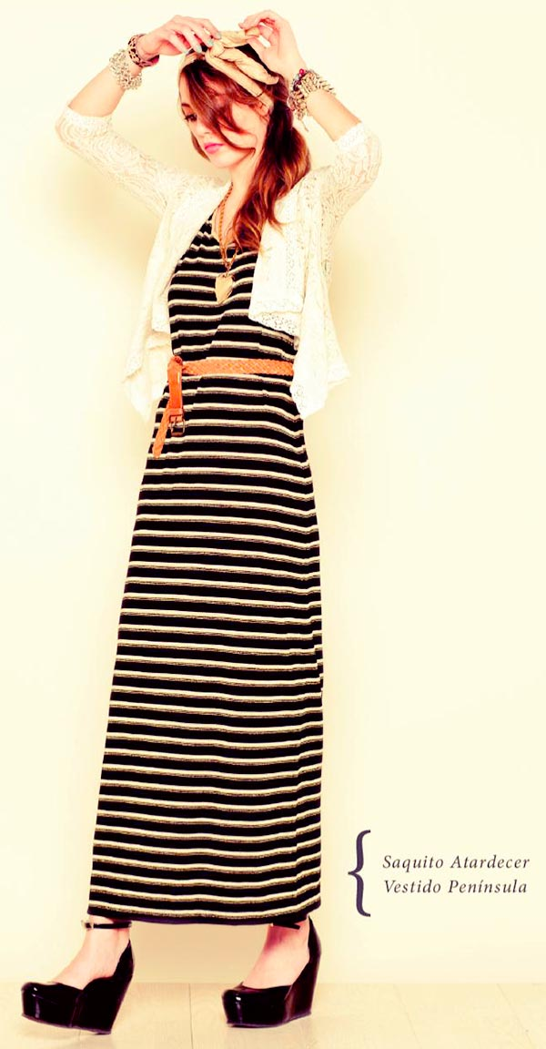 vestido largo moda 2013