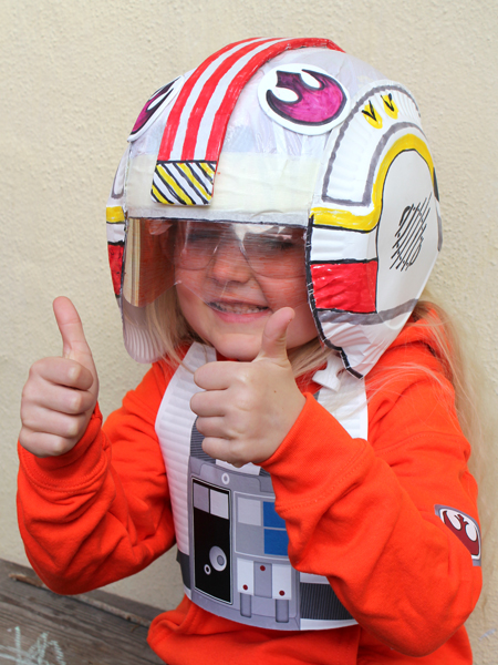 make your own astronaut helmet costume - photo #29