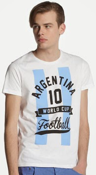 camiseta Argentina Mundial de Green Coast El Corte Inglés