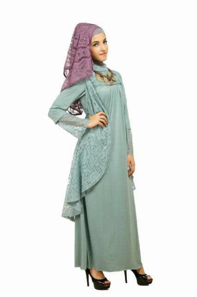 HijabBlogModelGamisBorkatNanAnggun
