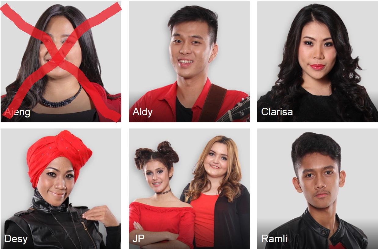 LAGU YANG DINYANYIKAN PESERTA X FACTOR INDONESIA 7 AGUSTUS 2015