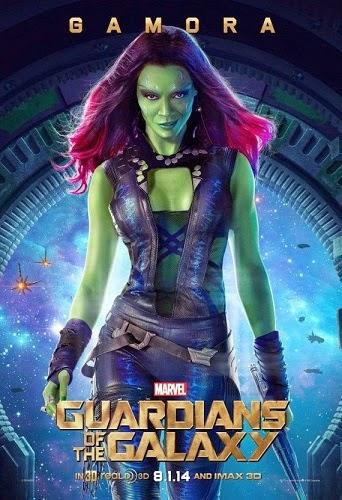 Guardians of the Galaxy Zoe Saldana - Gamora