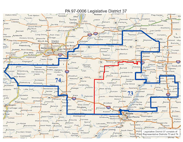 Will County Politics Realigned Illinois State Legislative