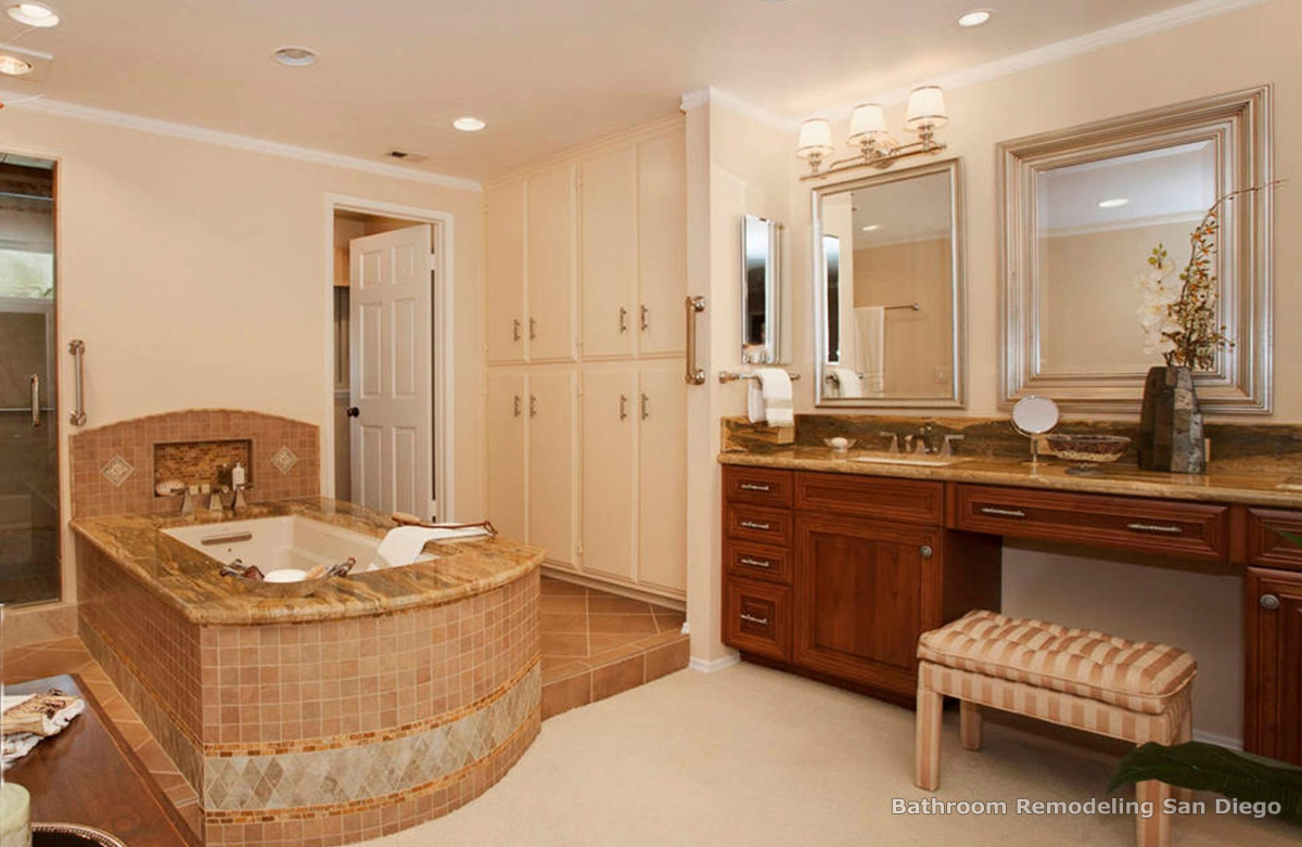 Bathroom remodel for Remodeled bathrooms