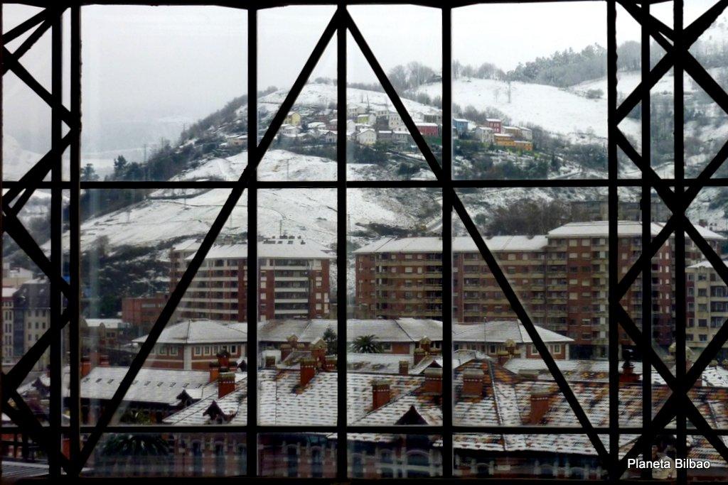 Paisaje urbano,nieve,Monte Caramelo