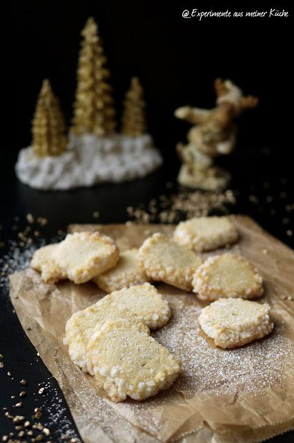 Experimente aus meiner Küche: Marzipan-Heidesand mit Tonkabohne