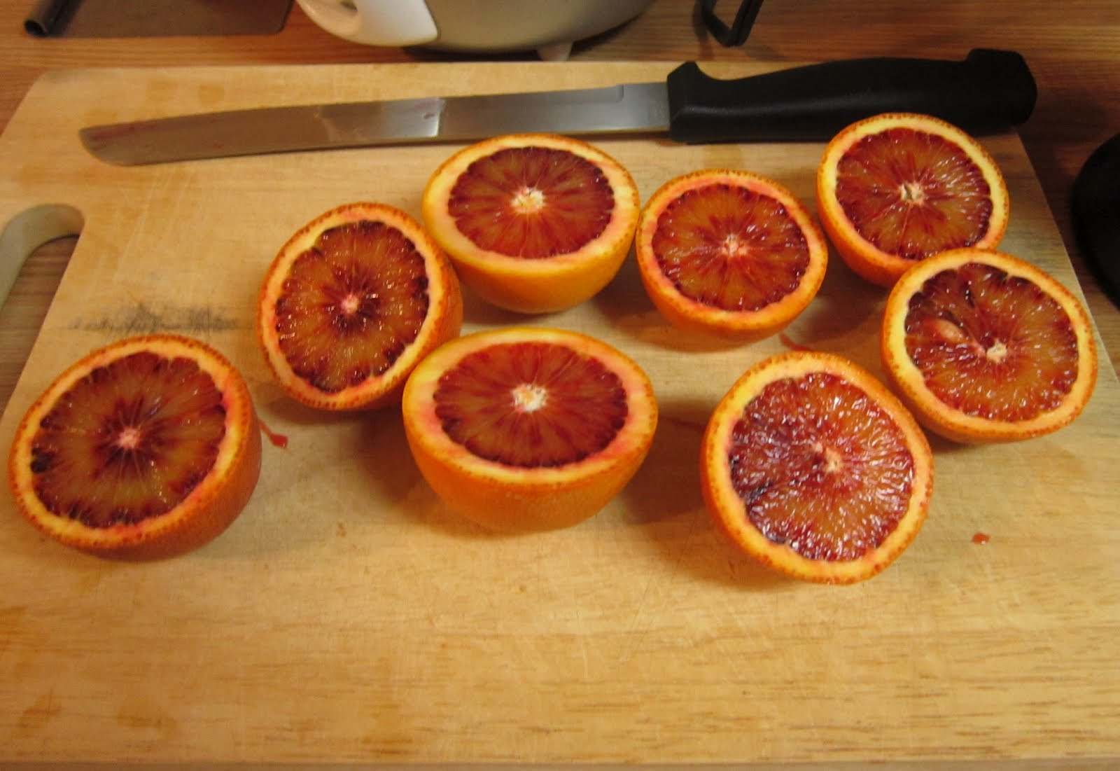 ... : The Produce Box Challenge: Strawberry Blood Orange Creamsicles