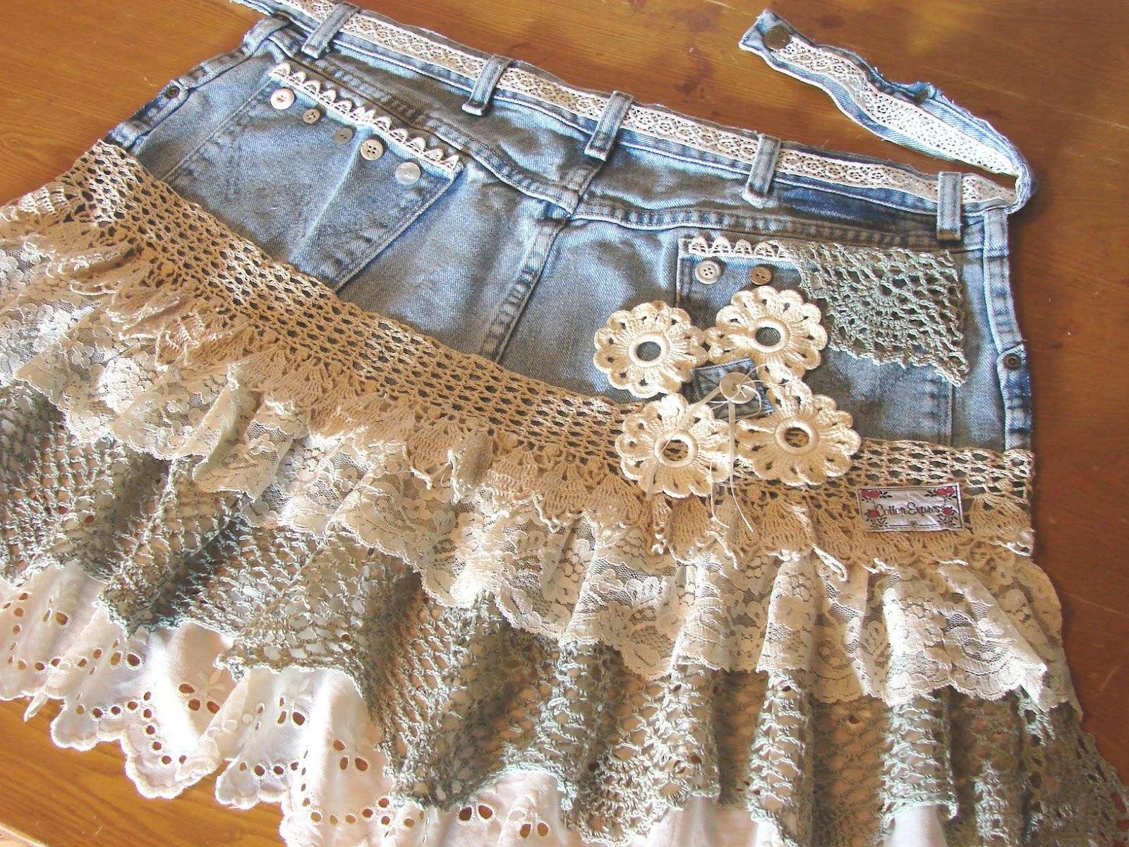 Сшить юбку для девочки из кружева