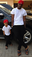 Peter and Cameron Okoye Swag Pose Photo