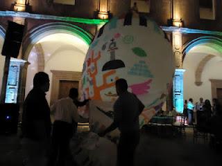 Exhibición de Globos de Cantoya Feria de Turismo Cultural en Morelia