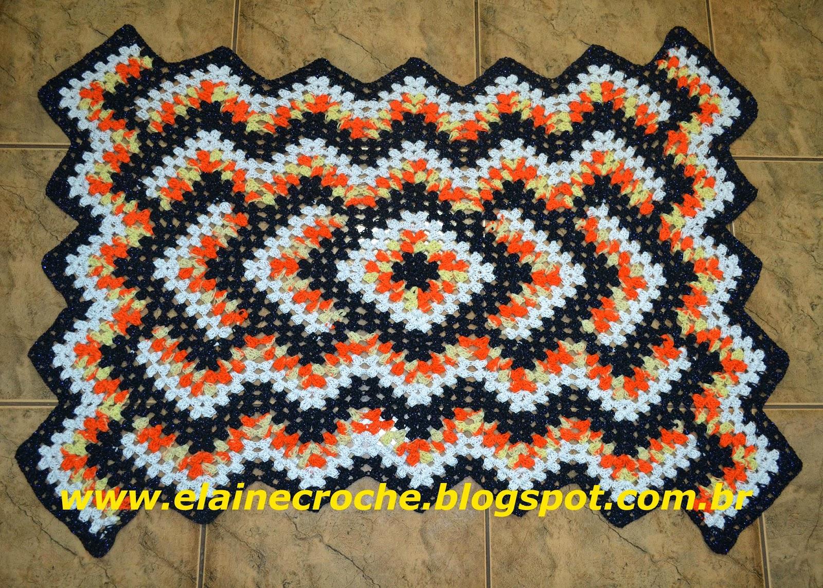 Tapetes de croch on pinterest crochet rugs crochet for Tapetes de crochet