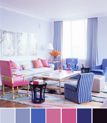 Design darling color palette Interior design color palettes