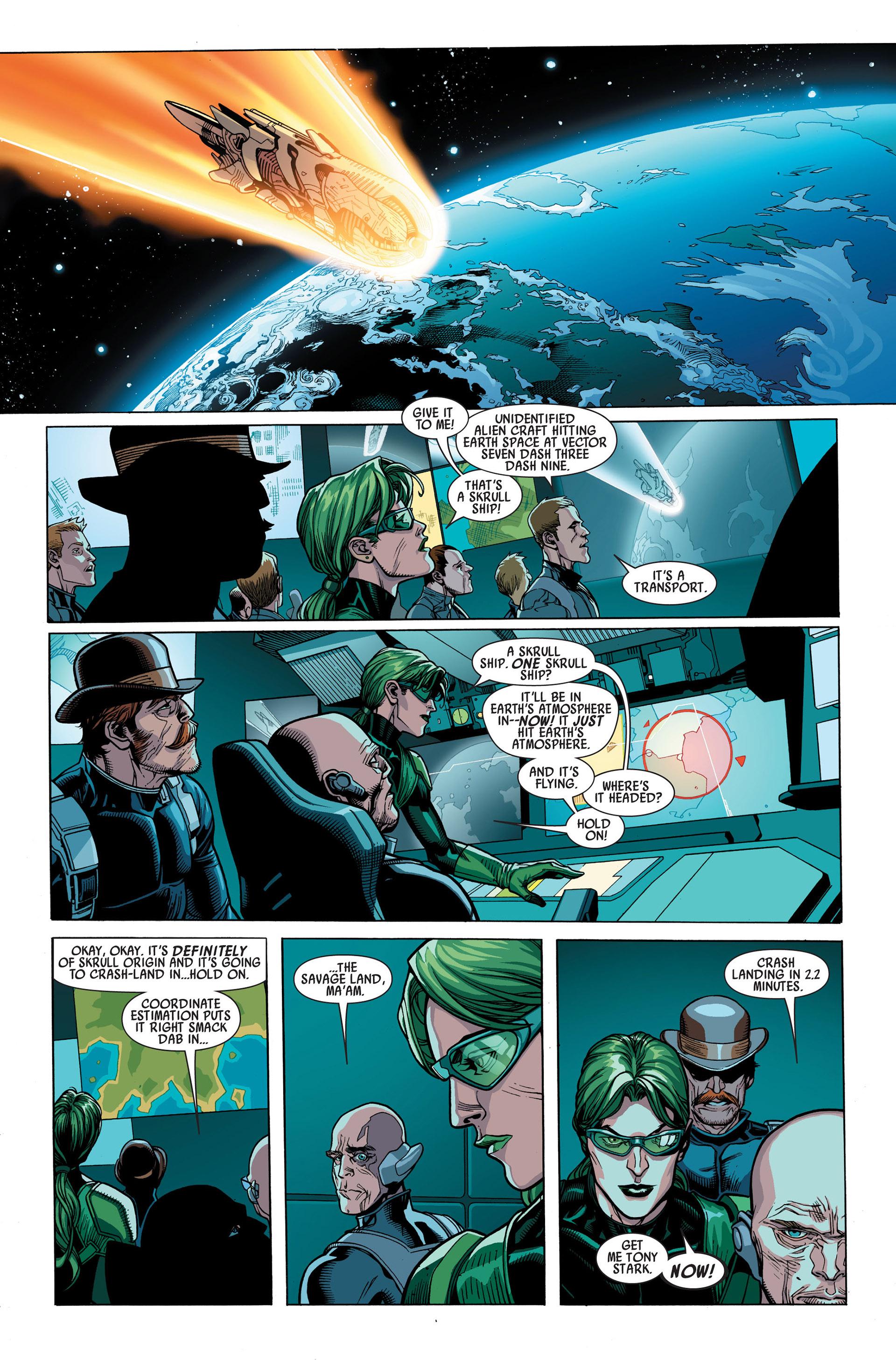 Read online Secret Invasion comic -  Issue #1 - 7