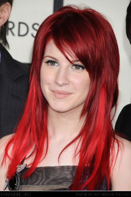 hayley williams haircut name. hayley williams hairstyle 2010