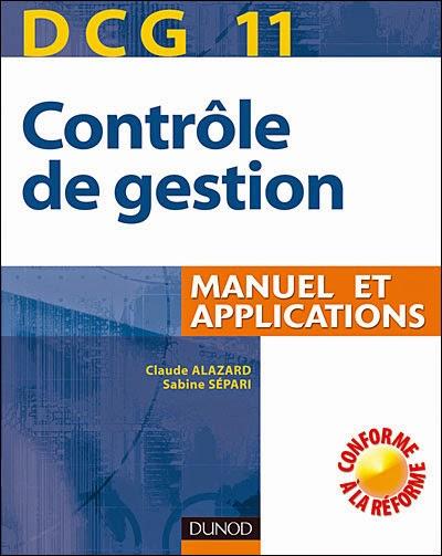 Télécharger le Livre : Contrôle de gestion : Manuel et Applications