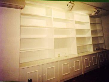 Librerias a medida madrid librerias lacadas de calidad 10 15 12 - Librerias lacadas ...