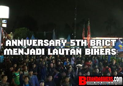 Anniversary 5th BRICT ( Blade Rider Club Tangerang )  menjadi launtan bikers!