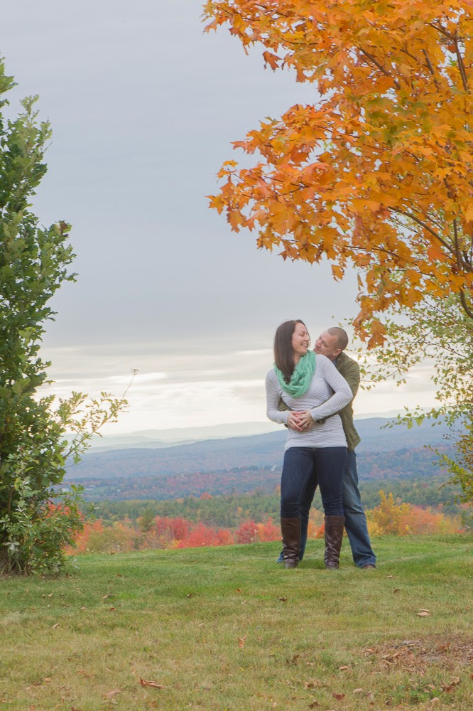 Boro Photography: Creative Visions, Sneak Peek, Kate and Alex, Fall Engagement, Gilmanton NH, New England Wedding and Event Photography
