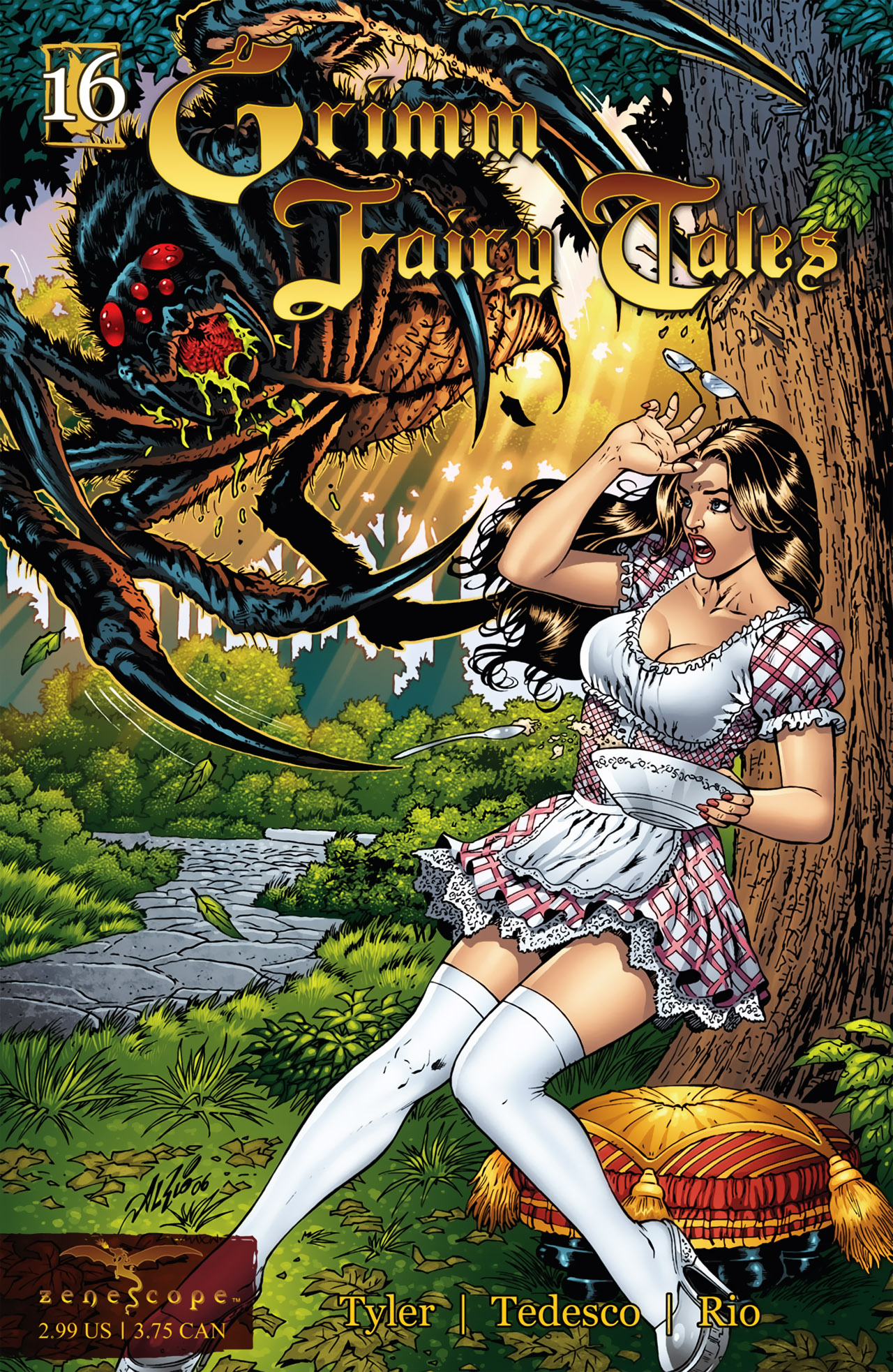 Grimm Fairy Tales (2005) Issue #16 #19 - English 1