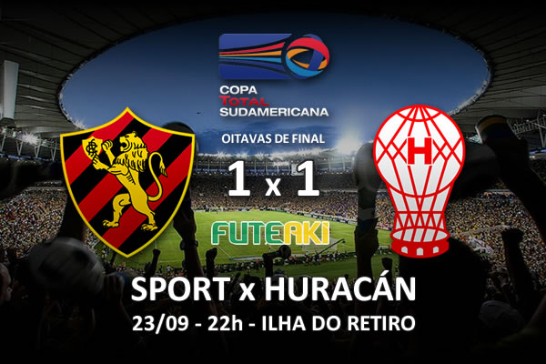 Veja o resumo da partida com os gols e os melhores momentos de Sport 1x1 Huracán pelas oitavas de final da Copa Sul-Americana 2015.