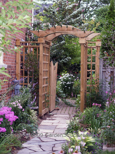 Garden arbor designs arbor tool galleries for Garden archway designs