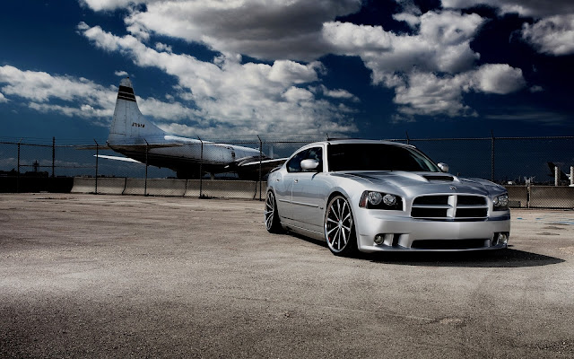 Car Wallpaper Metallic Dodge