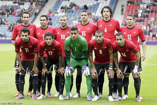 مصر والبرازيل الاوليمبي لندن 2012