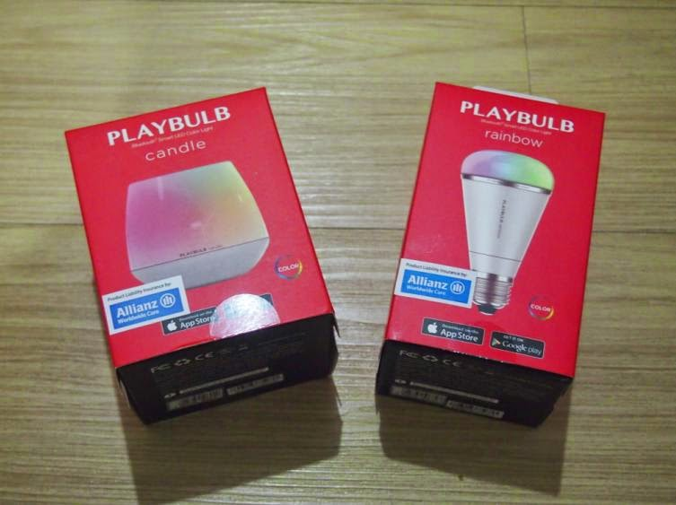 MiPow PlayBulb Candle, Rainbow and Color Unboxing and Hands-on