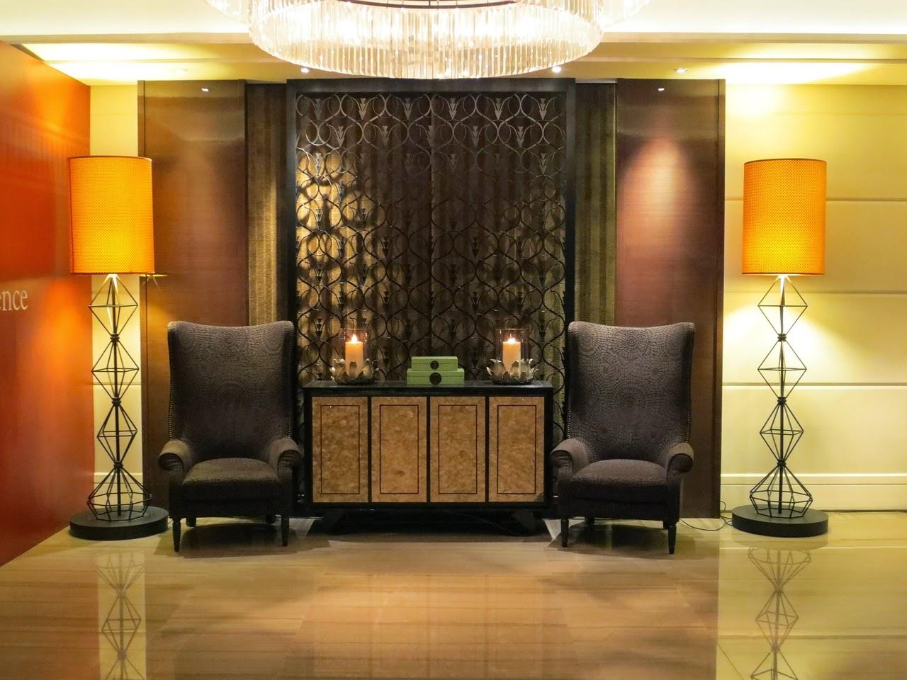 lobby de un hotel en chicago