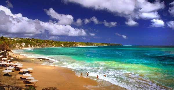 Gambar Pantai Dreamland Bali Indah dan Cantik