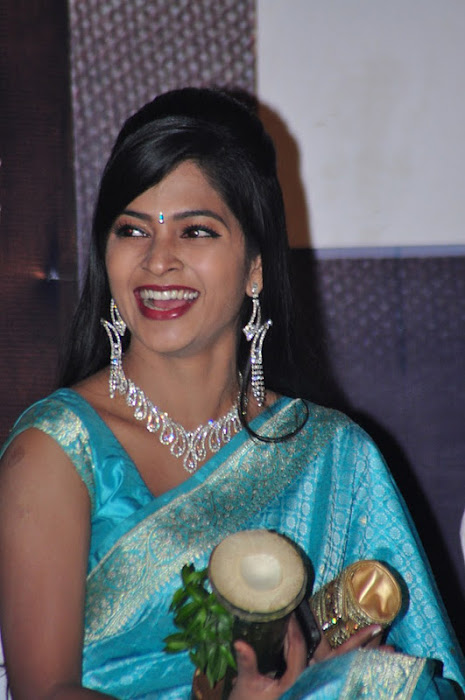 madhumitha transparent silk saree glamour  images