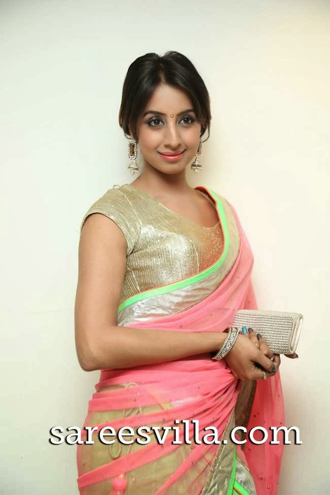 Sanjana In Half Saree