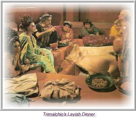 trimalchios dinner party