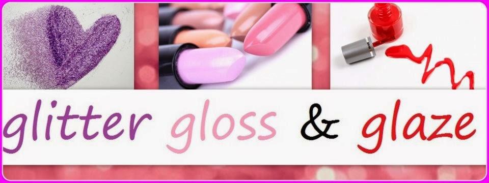 glitter gloss & glaze