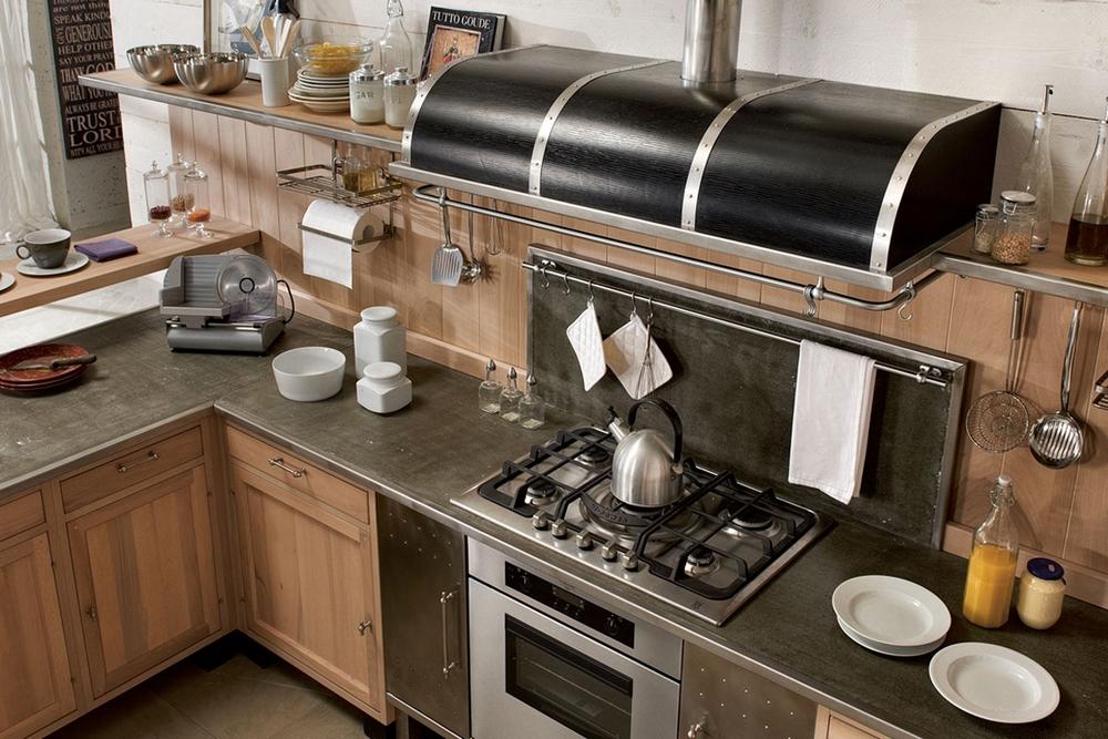 décoration : meuble cuisine hotte [colombes 1832], colombes metro ... - Meuble Cuisine Bistrot