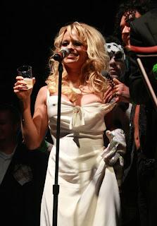 Foto Baju Pamela Anderson Melorot