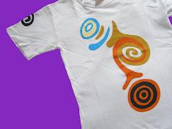 pintura em camiseta