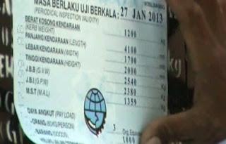 Biro Jasa Perpanjang KIR Jakarta Timur ( Ujung Menteng )