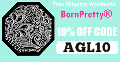 Kupon za 10% popust BornPretty