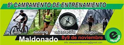 Campamento Entrenamiento de Elequipo (Maldonado, 08-09/nov/2014)