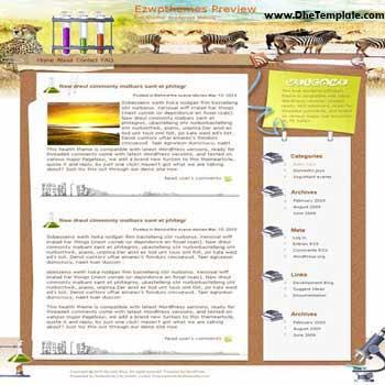 Supernova blogger template. converted WordPress to Blogger template. travel template blog