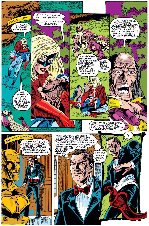 Captain America (1968) Issue #442 #396 - English 21