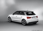 Audi A1 Sportback traseira