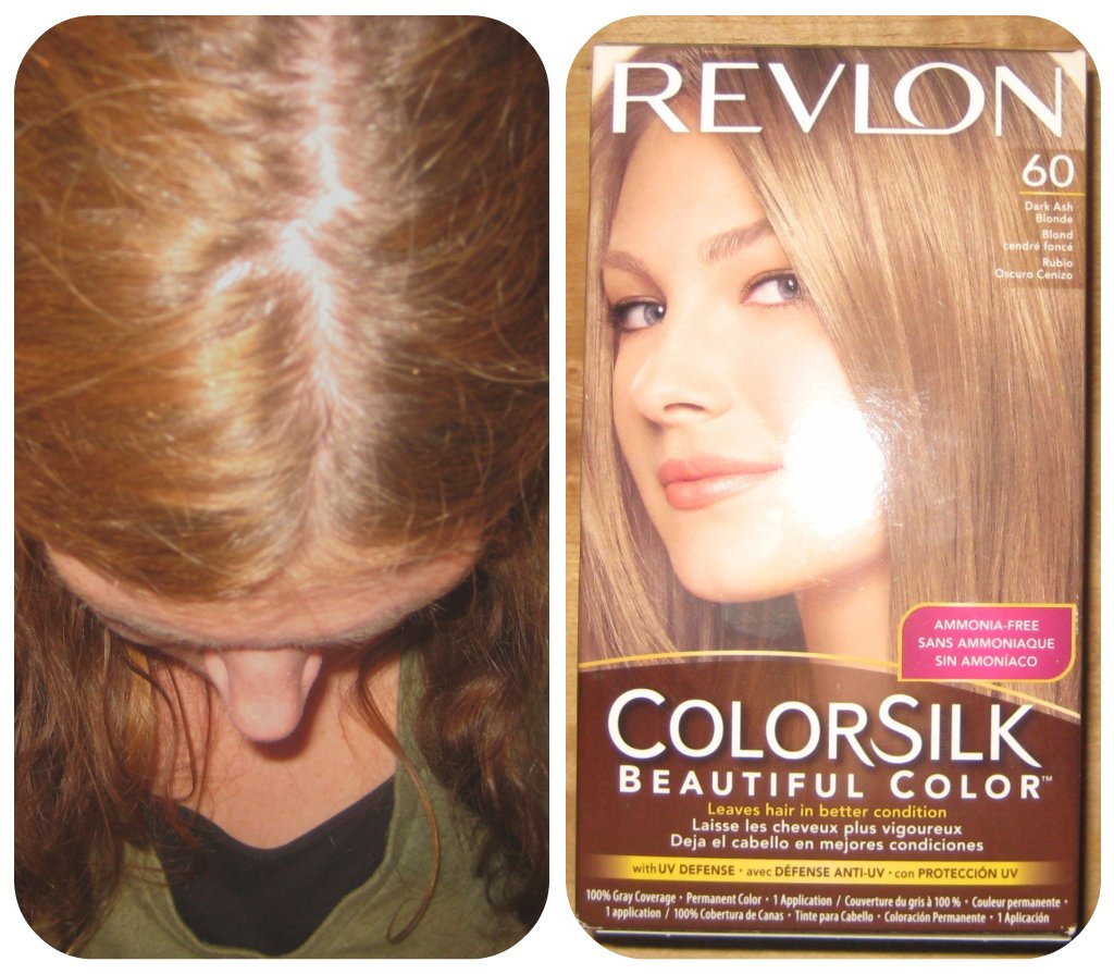 Strawberry Blonde Hair Dye Revlon Colorsilk #60 dark ash blonde.