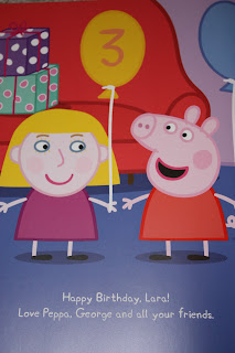 penwizard personalised peppa pig birthday book