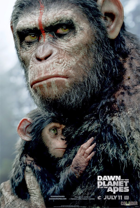Dawn Of The Planet Of The Apes new Poster