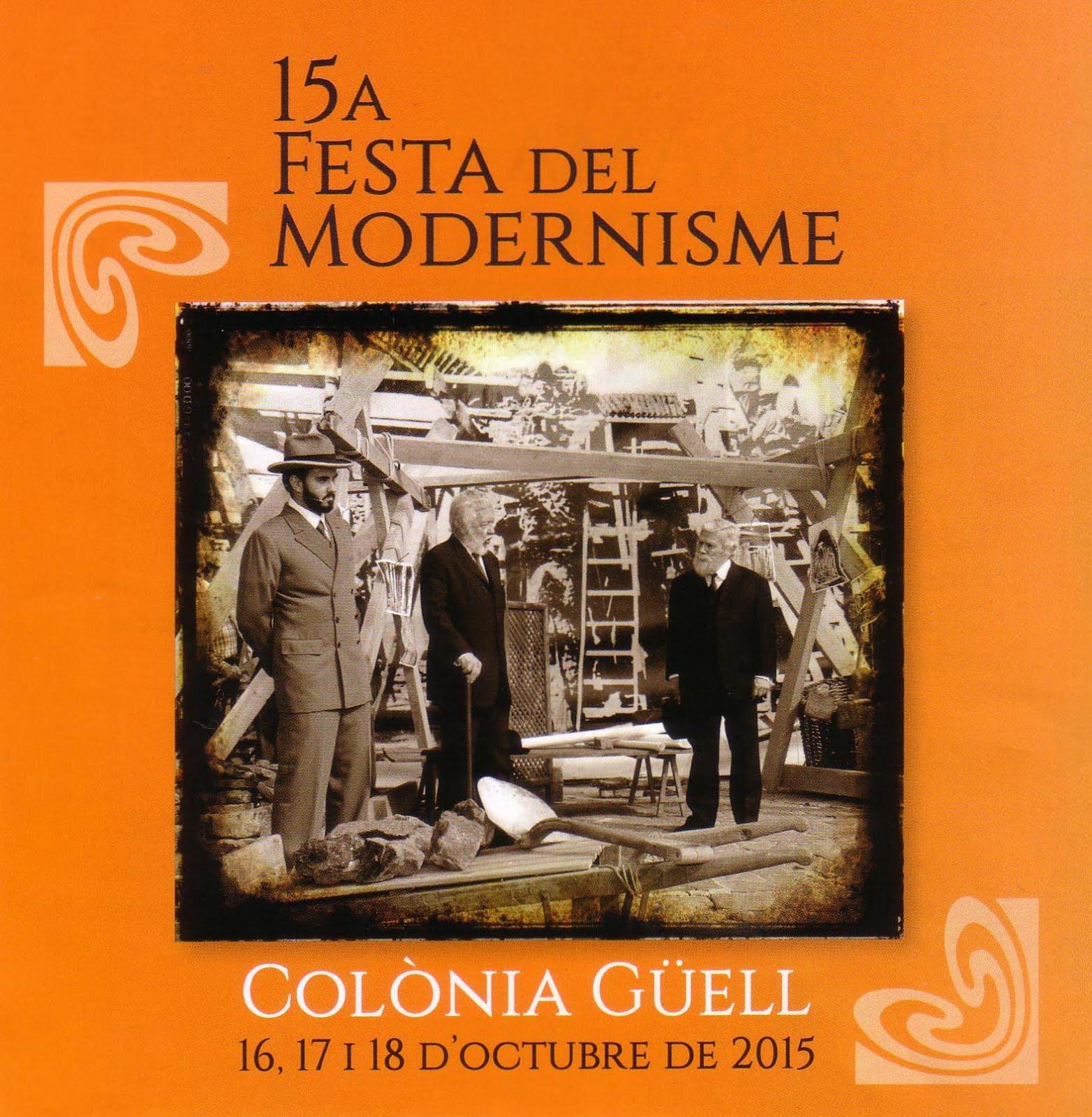 Cartell de la festa del modernisma