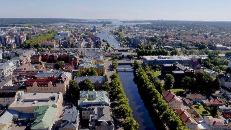 La ciudad de Gävle, Suecia. Fotografía tomada de www.gavle.se