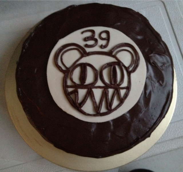 No Ordinary World Of Lovexiaolongbao Radiohead Birthday Cake
