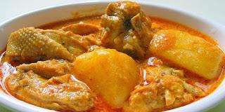 Resep Kari Ayam Spesial Super Lezat